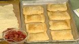 Actress shares strawberry-rhubarb pocket pie recipe