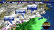 Meteorologist Adam Klotz reports from New York