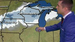 Adam Klotz breaks down tornado warning for the South and blizzard warnings for the North.