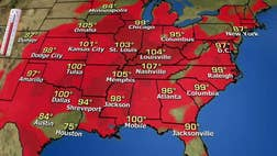 Deadly heatwave moving across the country Rick Reichmuth reports on the forecast and his special umbrella partnership with Folds of Honor.