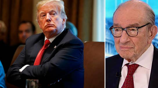 Trump was right to cut taxes, but Fed criticism is 'awkward': Alan Greenspan