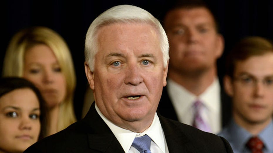 Pa. governor to sue NCAA over Penn State sanctions