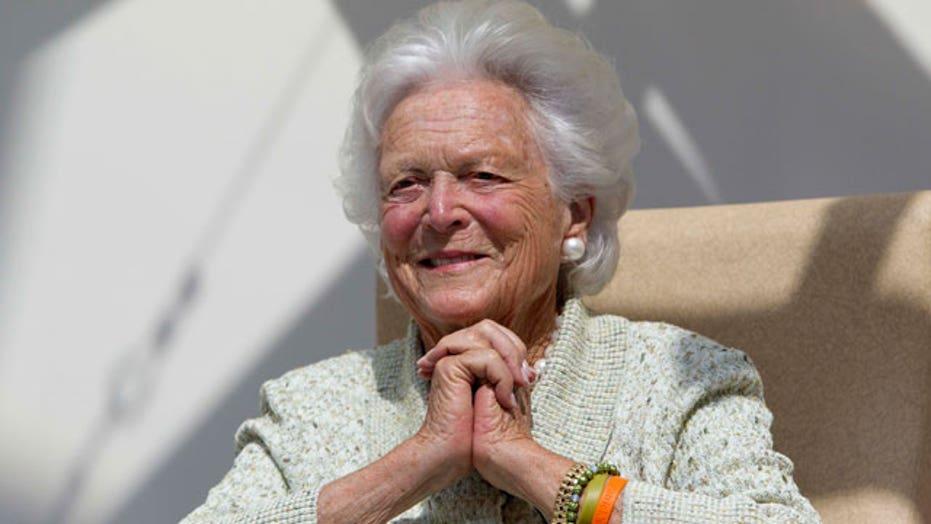 Update on Barbara Bush's condition