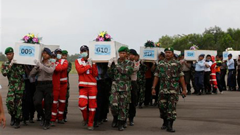 Over two dozen bodies recovered from AirAsia Flight 8501