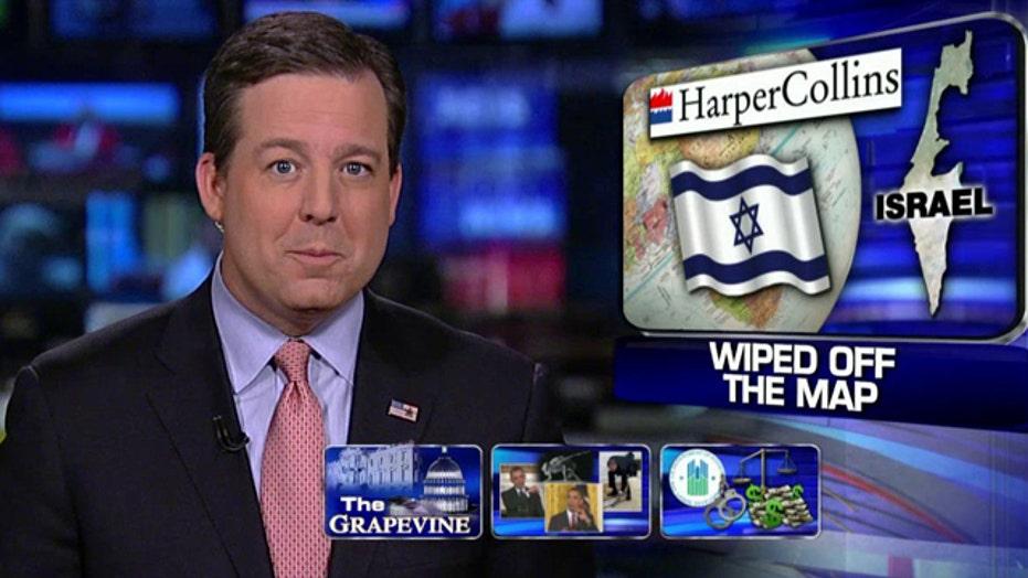 Grapevine: Harper Collins eliminates Israel