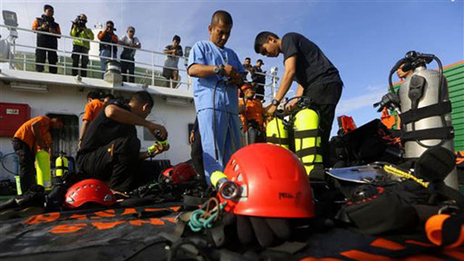 AirAsia jet may have landed safely on water before sinking