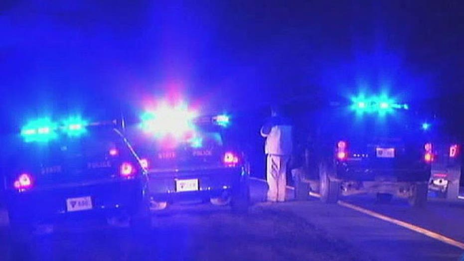 Police officers wounded in highway shootout