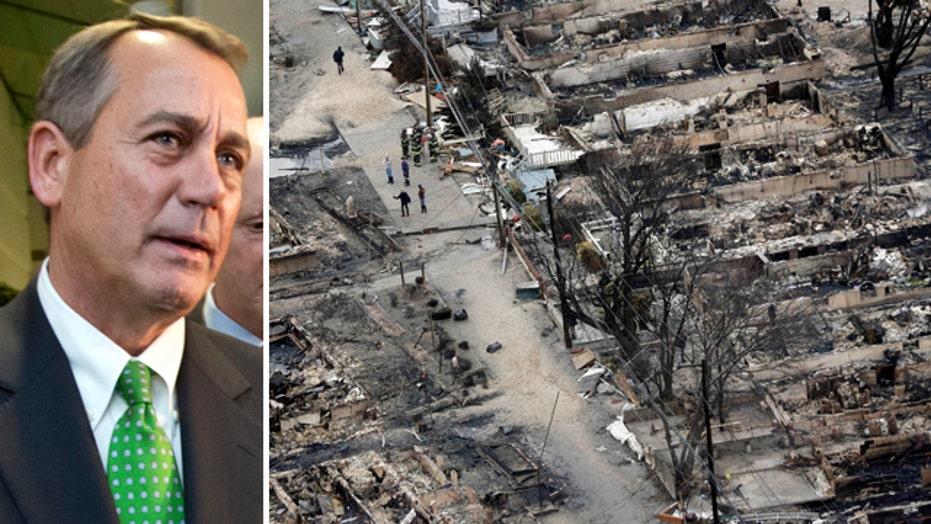 House sets vote for superstorm Sandy aid after criticism