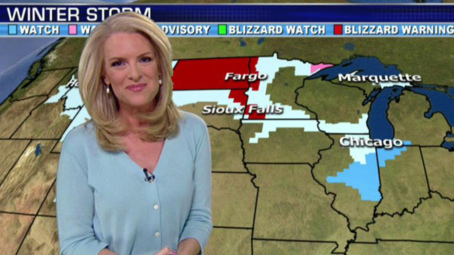 Next weather system to impact Midwest, Northeast