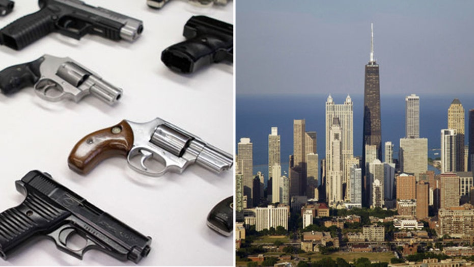 Chicago has tough gun laws, leads nation in gun violence