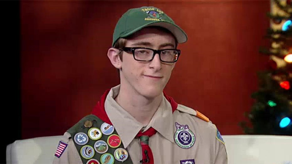 Scout's mission: Hearing, sharing our veterans' stories