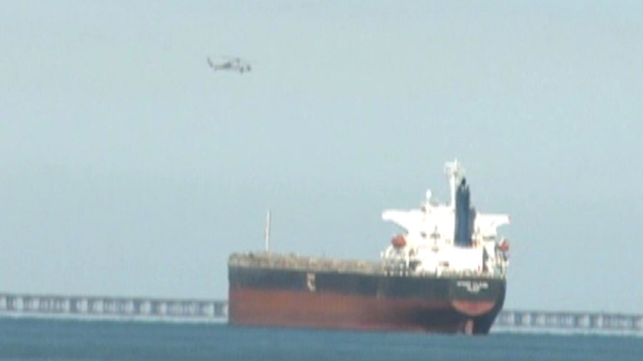 Rescue effort following deadly Navy chopper crash