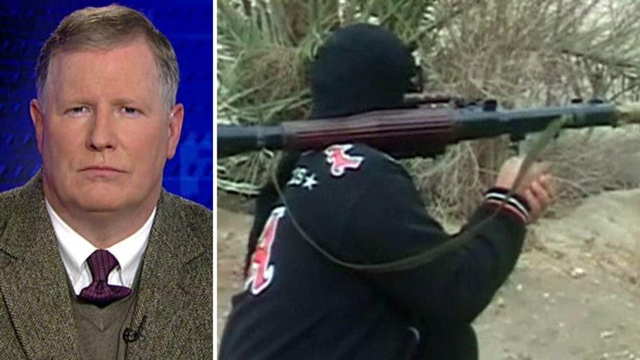 On the run? Peter Brookes argues Al Qaeda virus is spreading