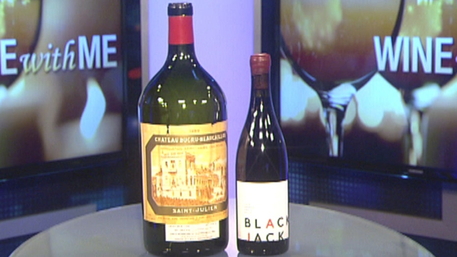 Rare, and very large bottles of wine