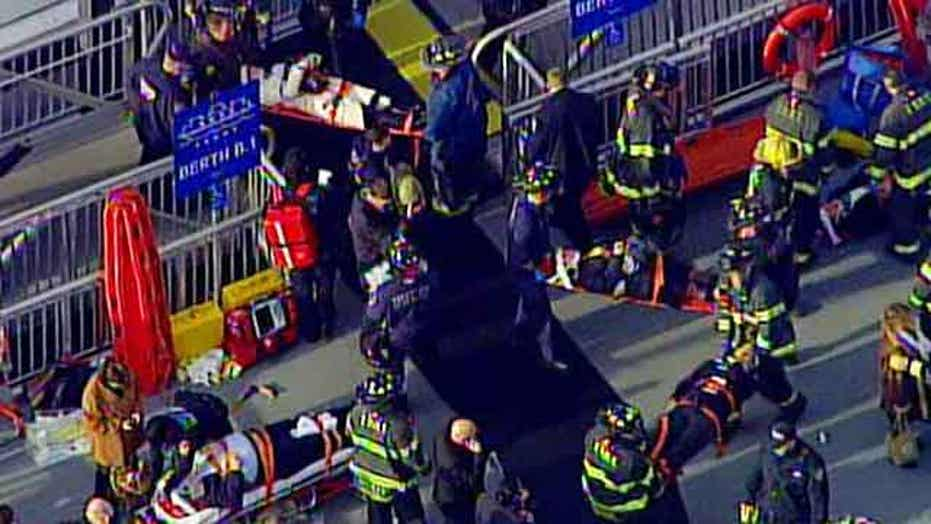 59 passengers injured in NYC ferry crash; 2 critical