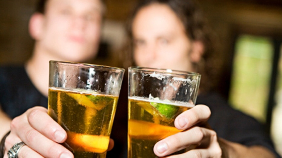 US alcohol problem, early labor cause, teen fitness fail