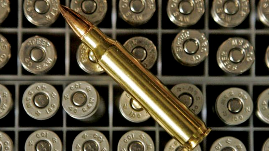 Permits, background checks to buy ammo?
