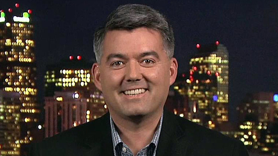 Rep. Cory Gardner discusses Mark Udall accusations