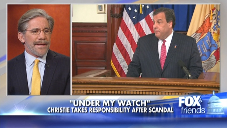 Geraldo Rivera On Chris Christie's Scandal