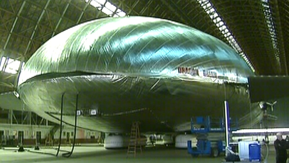 New blimp-like aircraft could revolutionize disaster relief