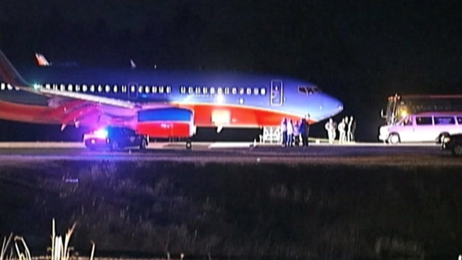 Southwest airlines flight lands at wrong airport