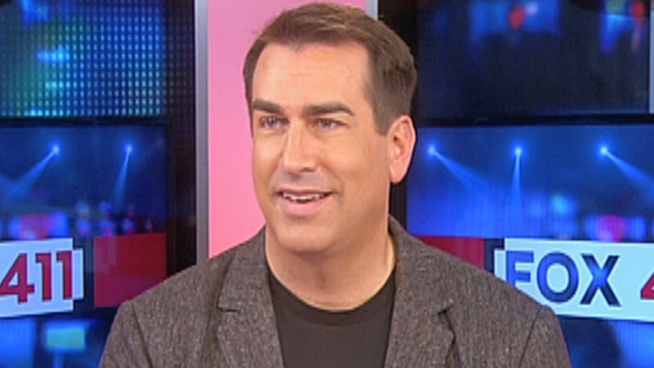 Rob Riggle takes football test