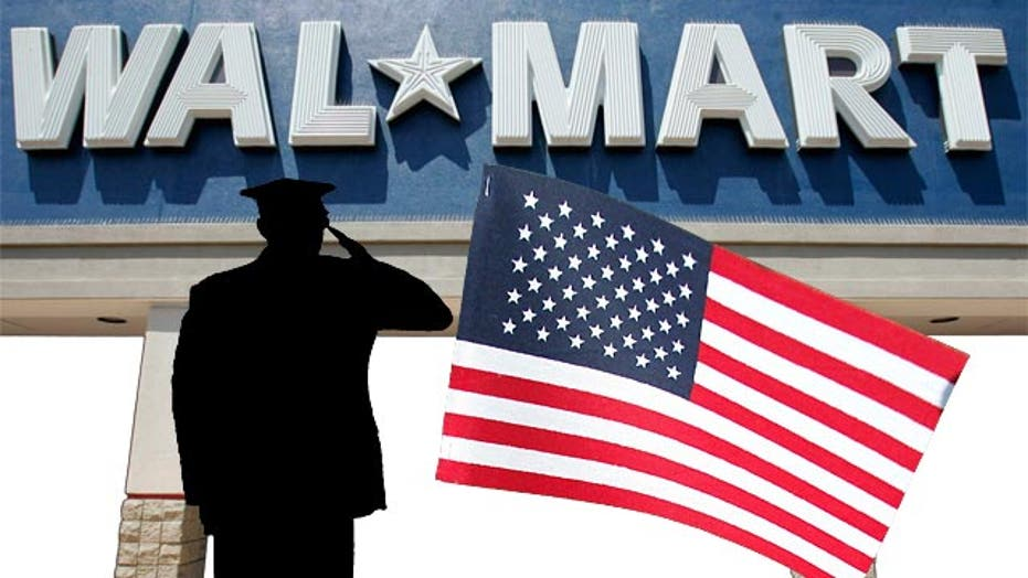 Wal-Mart announces plan to hire 100,000 vets over 5 years