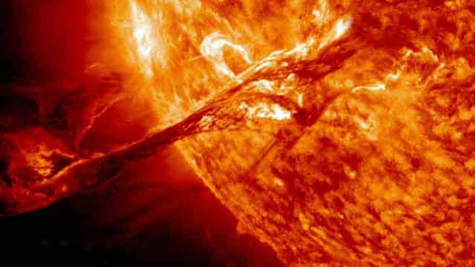 Experts warn of massive solar storm in 2013