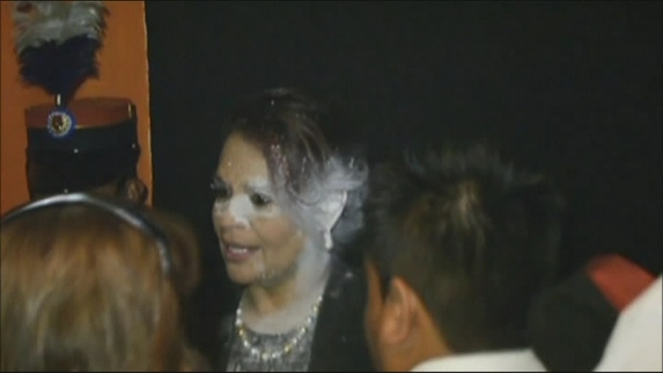 Guatemalan VP Rushed To Hospital After Flour Attack