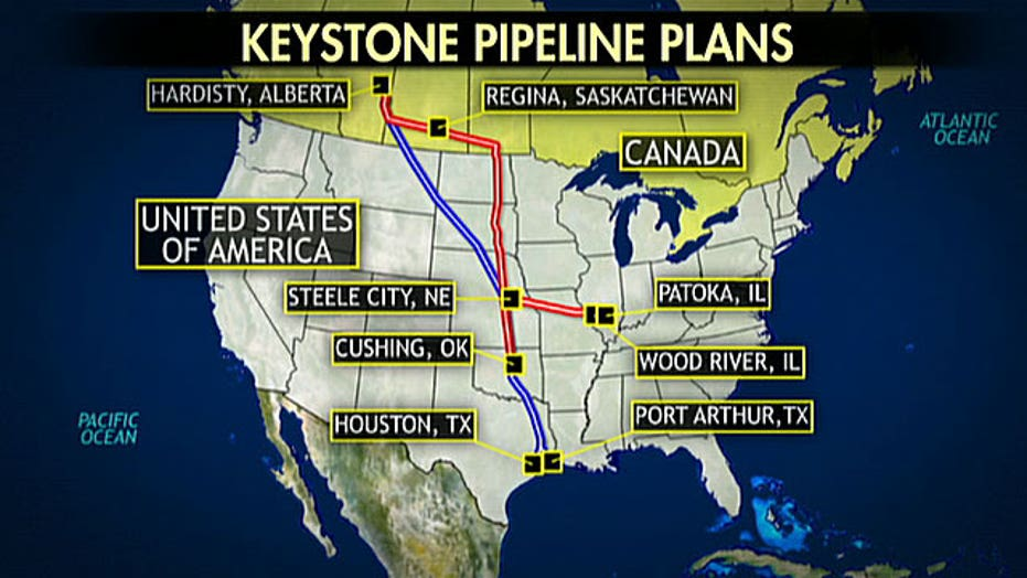 Will US lose access to Canadian pipeline oil?