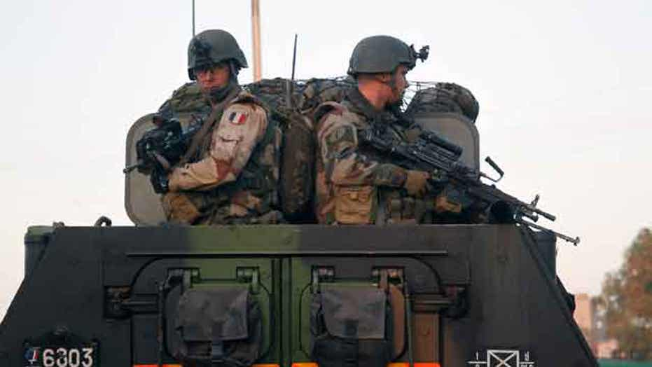 French troops nearing direct combat with Al Qaeda