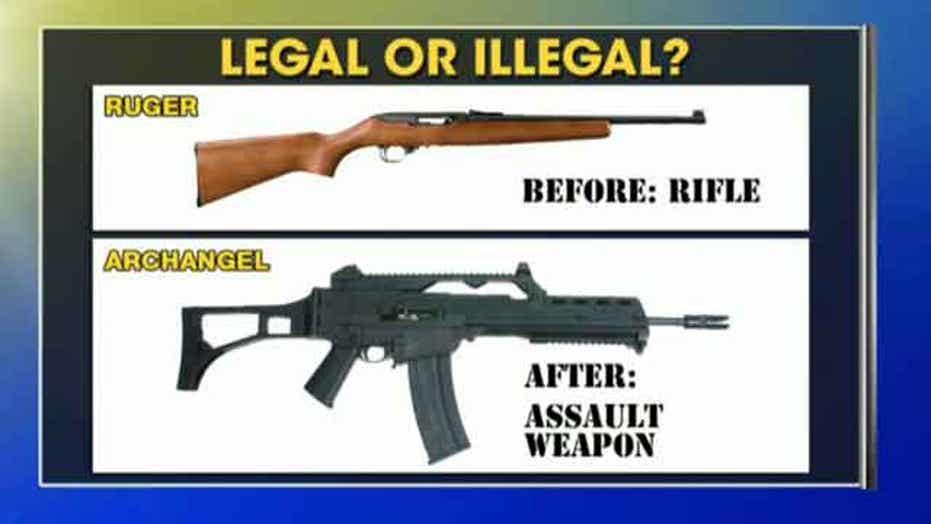 What makes a gun an assault rifle?