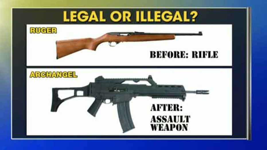 What makes a gun an assault rifle?