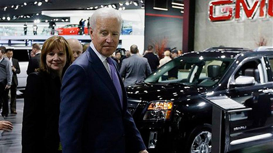 VP Biden touts 'Big Three' comeback at Detroit Auto Show