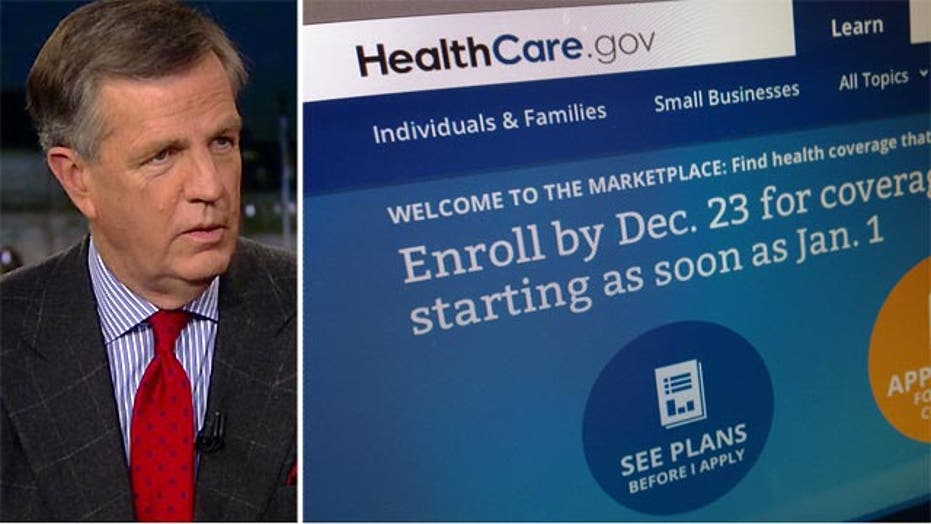 Brit Hume's analysis of healthcare.gov security concerns