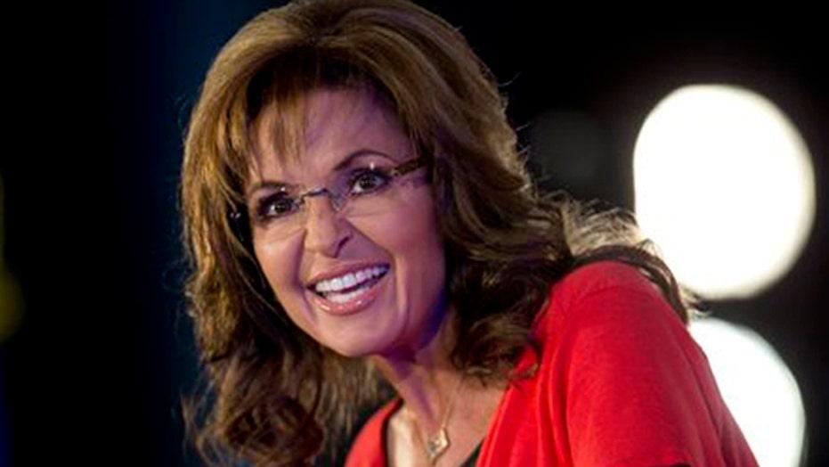 Sarah Palin, studio audience debate parenting in America
