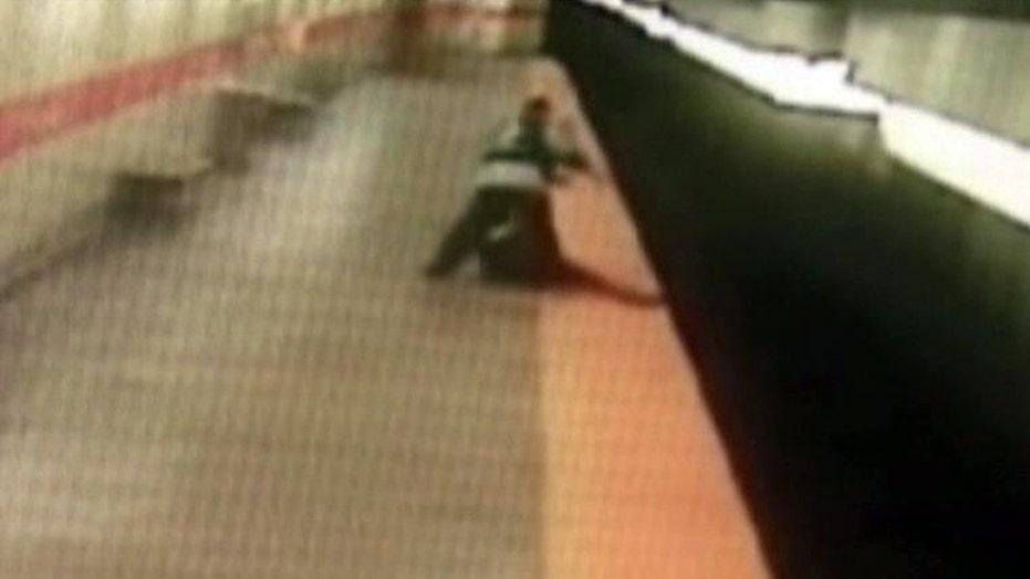 Police arrest suspect in brutal train platform attack