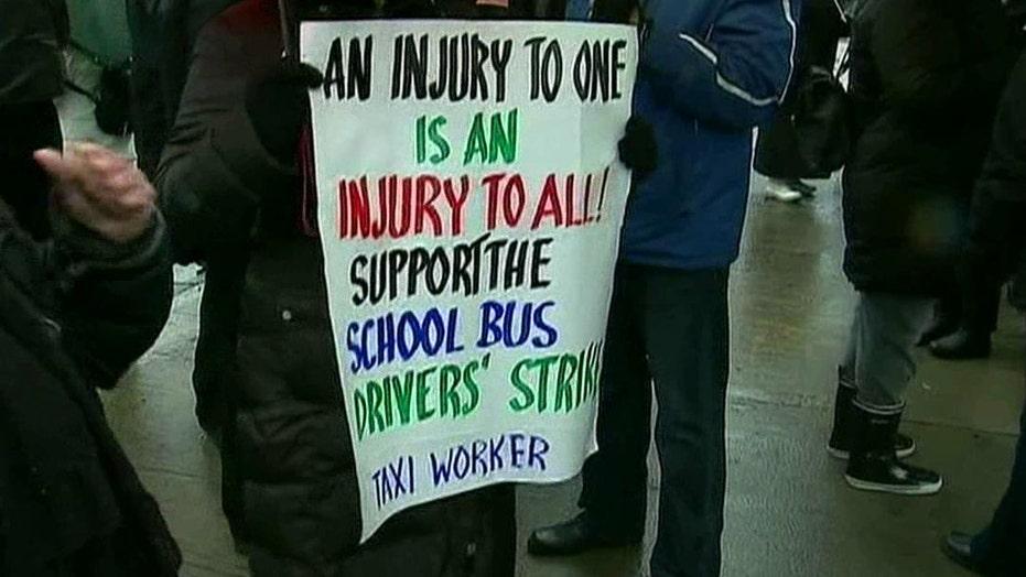 Union jobs striking out?