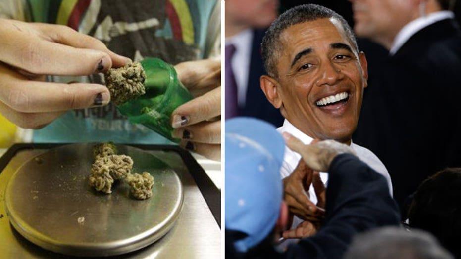 Obama compares pot to alcohol