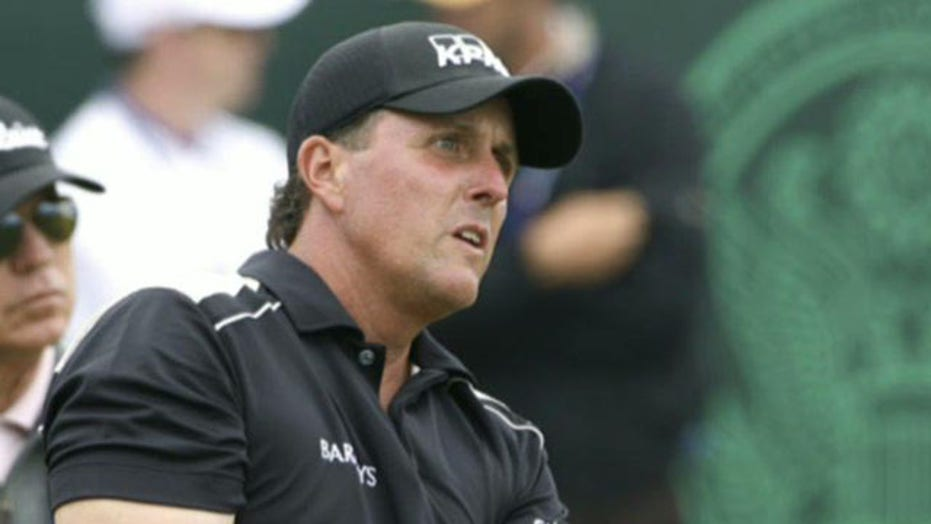Phil Mickelson tee'd off over high taxes