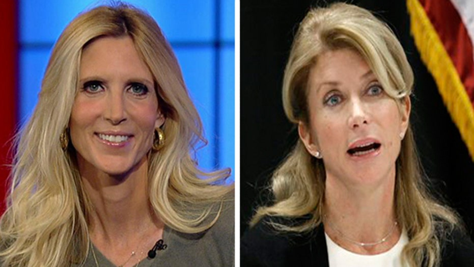 Ann Coulter sounds off on Wendy Davis' inconsistencies