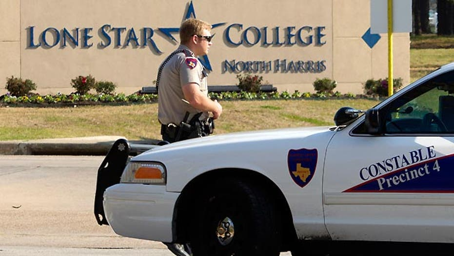 2 suspects hospitalized after shooting at Lone Star College