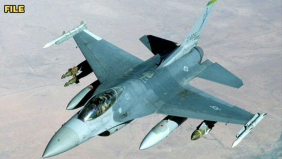 US gift of F-16 fighter jets headed to Egypt