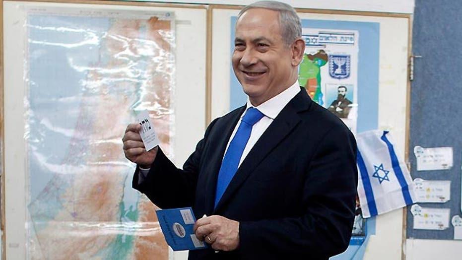 Exit polls show Netanyahu, allies win Israeli election