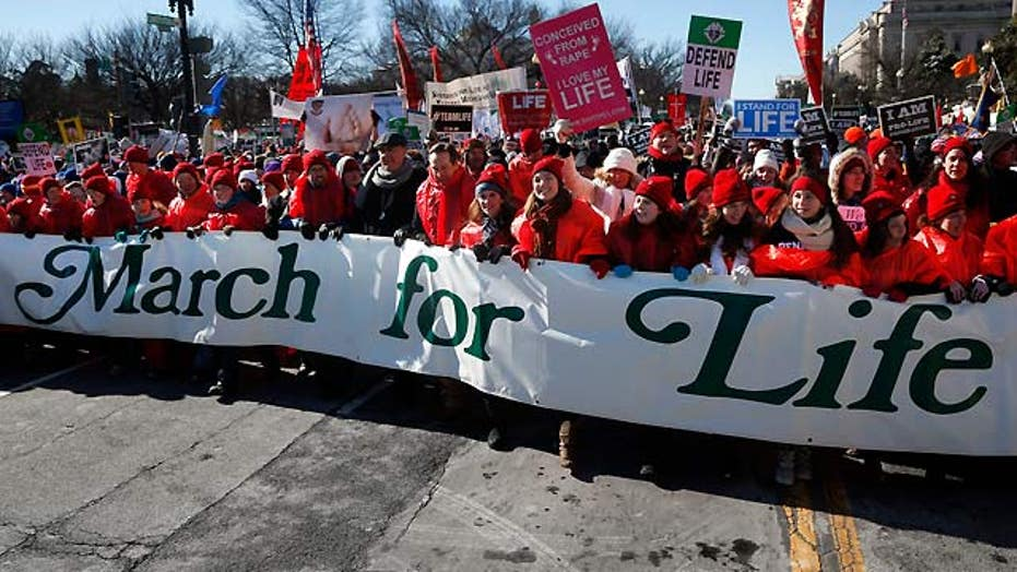 Abortion politics and the March for Life