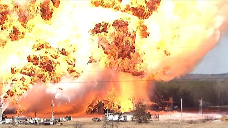 New video of diesel plant explosion in Mississippi