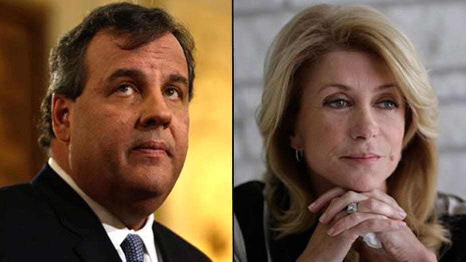 Media giving equal coverage to Christie, Davis flaps?