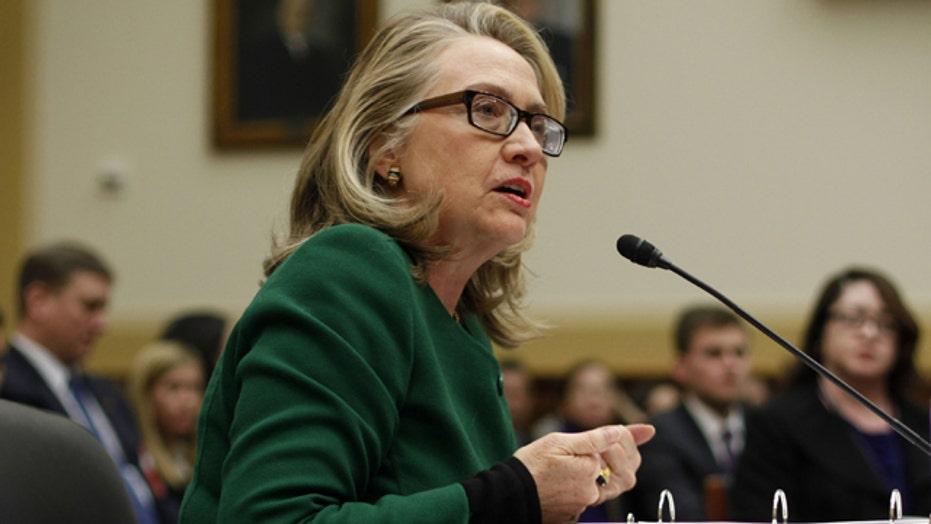 Mainstream media handling of Clinton testimony