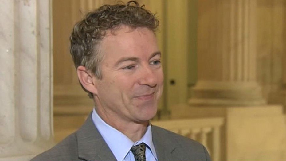 Sen. Rand Paul on US, F-16 fighters, Egypt and Israel