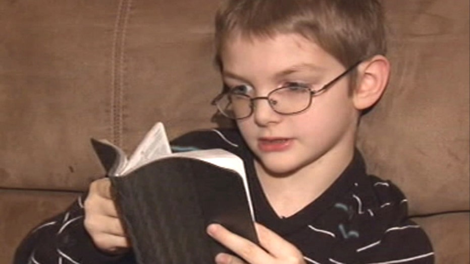 'Only for church': School allegedly bans boy's Bible